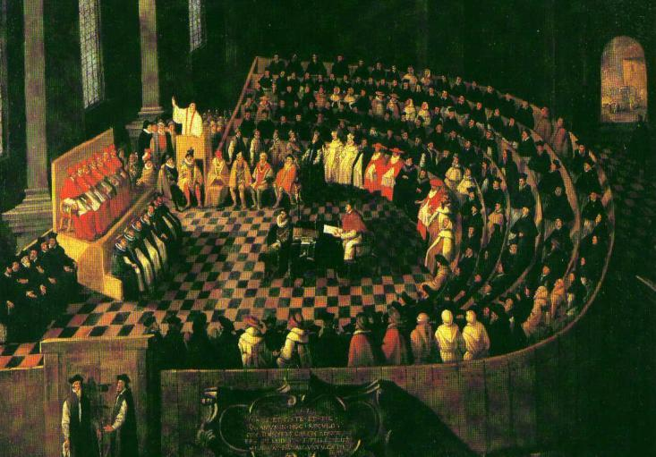 used education to spread message Council of Trent (1545) met off and on over 18 years Reaffirmed both