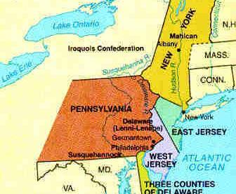 MIDDLE COLONIES Originally settled by the Dutch New Amsterdam (NYC) Most