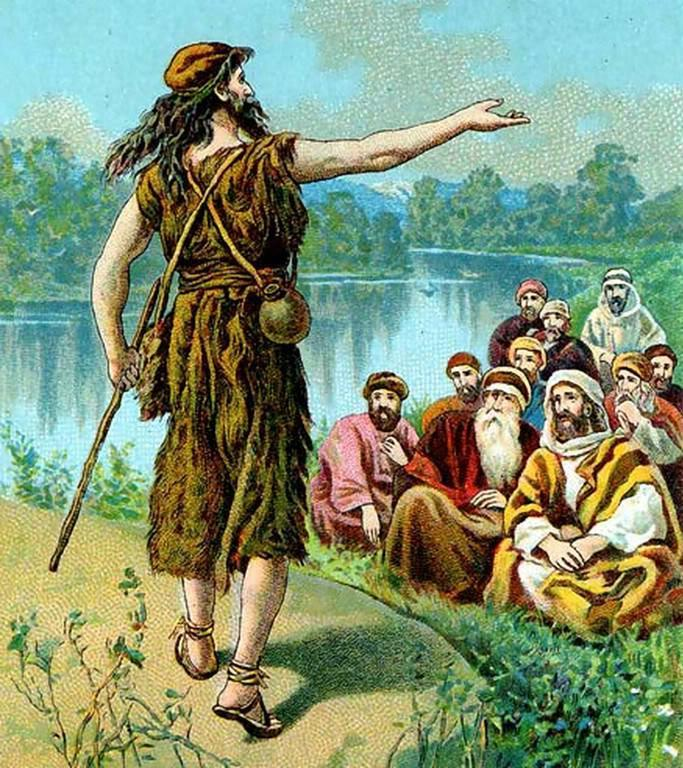 The Prophecy of John the Baptist Matthew 3:11 I indeed baptize you with water unto repentance: but he that cometh