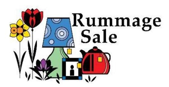Bracken UMW Semi-Annual Rummage Sale Saturday, April 21 8:00am 12:00noon 20377 FM 2252, SA 78266 (Nacogdoches Rd) 5 miles NW of 1604 near Garden Ridge Thousands of bargains!