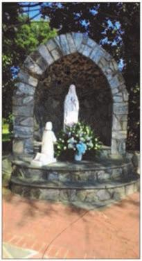 Please watch for the many upcoming changes, as we restore this beautiful garden dedicated to Our Blessed Mother and Bernadette.