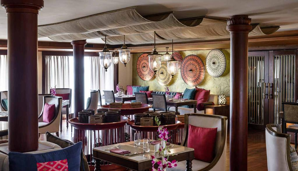 Talifoo Restaurant Owner s Suite - Private Dining FIRST-CLASS CUISINE The fragrant flavours of Myanmar, including lemongrass, kaffir lime and