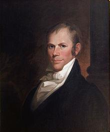 AMERICAN SYSTEM: HENRY CLAY Established a better national transportation system to aid trade and national defense.