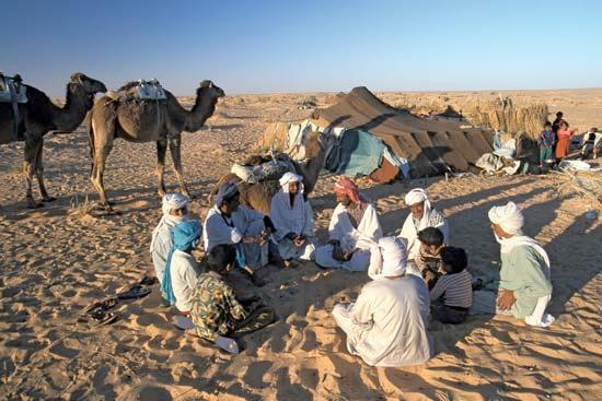 Pre-Islamic Bedouin Culture Well-established on the Arabian Peninsula, mostly nomadic,