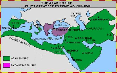 Abbasid Caliphate Came to power in 750 C.E.