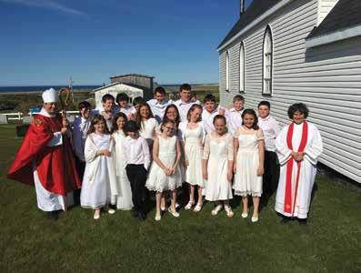 While the challenges of fewer people, fewer dollars in the offertory plate and consequently fewer clergy are lamentably common in rural areas, these parishes of the eastern part of the deanery of