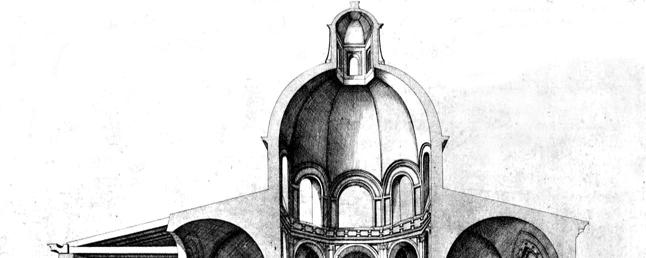 130 Christian C. Sahner 13. Lateran Baptistery, St. John Lateran, cross section, Laférey, 1560.