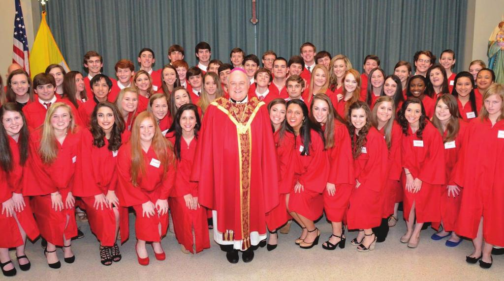 CONFIRMATION 2015 VENI SANCTE SPIRITUS Prayerful best wishes to these young men and women who recently celebrated the Sacrament of Confirmation Mary Katherine Audiffred Spencer Jeffery Baudier Thomas