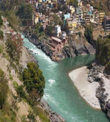 13.4 Geography Ganges River Starts in the Himalayas and flows across the north to the south Carries silt from the Himalayans to the northern
