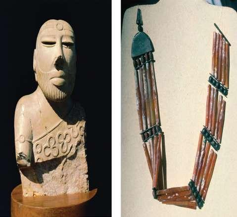 14.4 Statue and Beads Statue found in lower city 7 high How they dressed or looked?