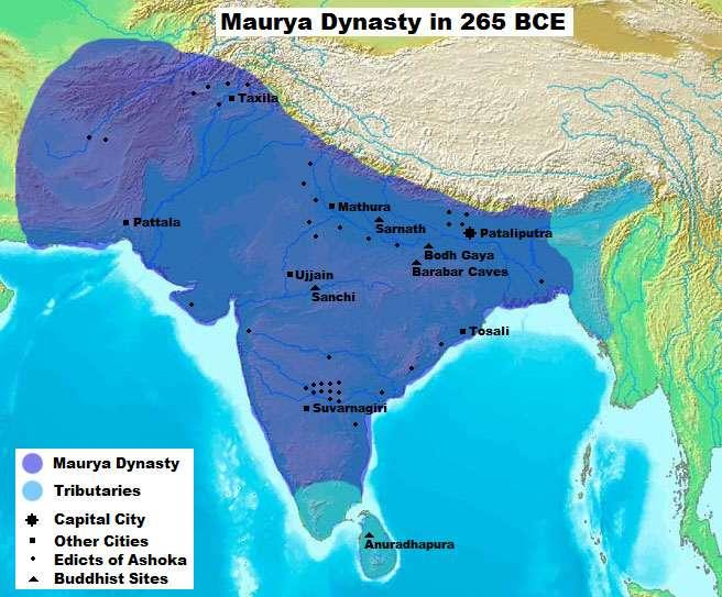 Introduction The First Unification of India Big idea: How did Ashoka unify the Mauryan Empire and spread Buddhist values King Ashoka of the Maurya family first leaders to unite various kingdoms