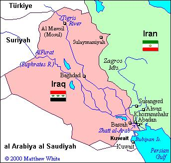 1980-88 War between Iran and Iraq. The U.S. supported Iraq.