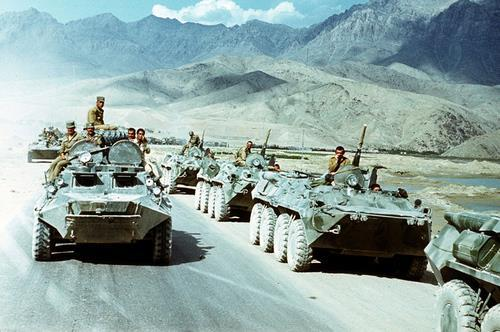 Soviet tanks, 1979 Mujahideen Dec.