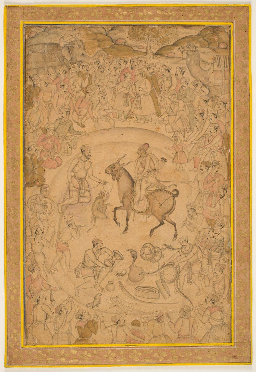 Albums Album books of beautiful art became especially popular in Mughal India. The single-page painting attains prominence in Mughal art from the mid-sixteenth century onward.