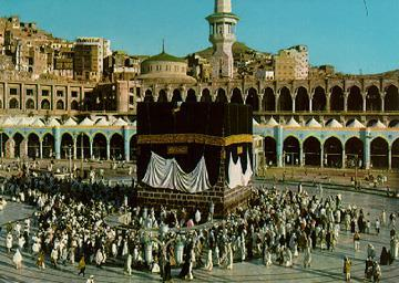 Mecca 1. location of the Ka aba 2.