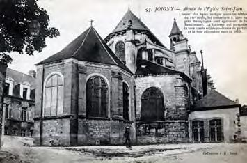 The church of Saint John [Saint-Jean], adjacent to the Gondi castle, was probably located on the site of a former monastery chapel dating from the tenth century.