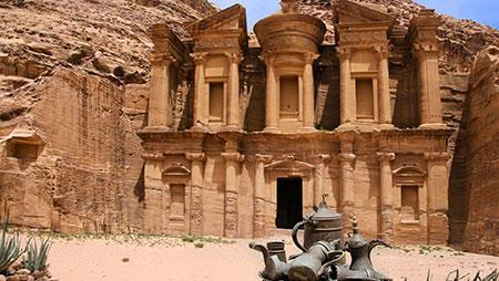 5 Day 4-Night Jordan Extension Explore more of this amazing region. Extend your adventure with a 4-night Jordan Extension. Tour the incredible stone-carved city of Petra.