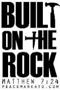 Built On the Rock is our theme for this year s VBS at Peace!