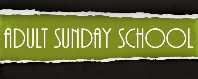 Lot s of Great things going on in our Adult Ed Sunday School Classes! If you haven t already check one of them out!