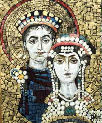 Justinian and Theodora Justinian is remembered as one of the Byzantine Empire s greatest emperors while Theodora is one of the