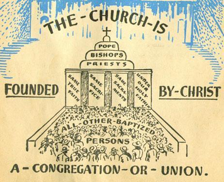 The Division of Christianity Priests led individual churches However,