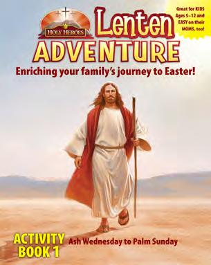 Activity Books 1 and 2, Lenten Roadmap to