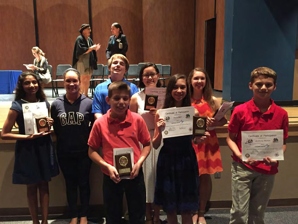 Manatee County Science Fair Winners Last week our students did very well during the awards ceremony for the Manatee County Science Fair.
