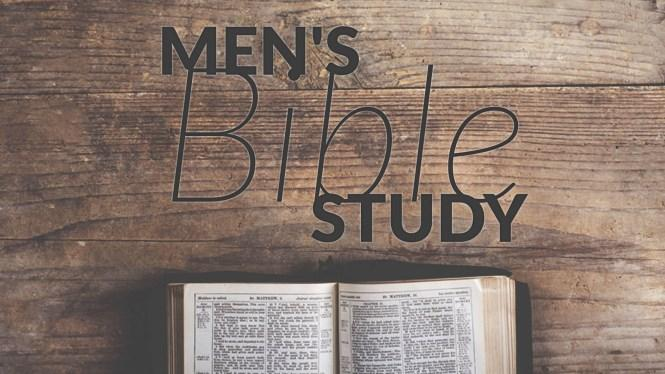 MEN S BIBLE STUDY The is studying the Incarnation of Jesus on Thursday nights at 6:00 PM in the Church