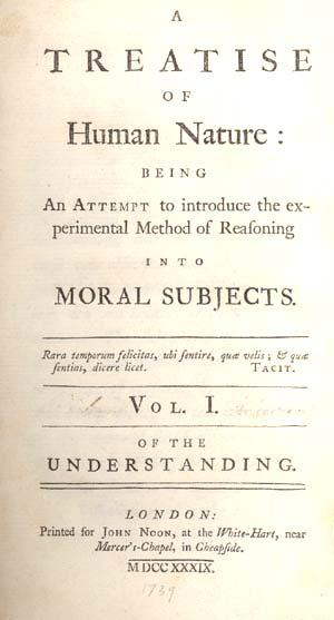 Hume s book advanced very important arguments which in some ways took empiricism to a logical extreme.