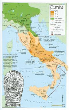 Expansion and Crisis Romans conquer the Southern Italian/Greeks