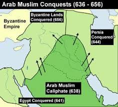 Before Abu Bakr died to illness, he was able to take land from people and convert them to the religion of Islam.