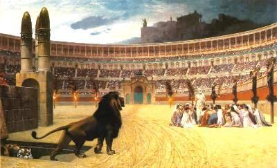 The Colosseum was used to distract the masses because much of city
