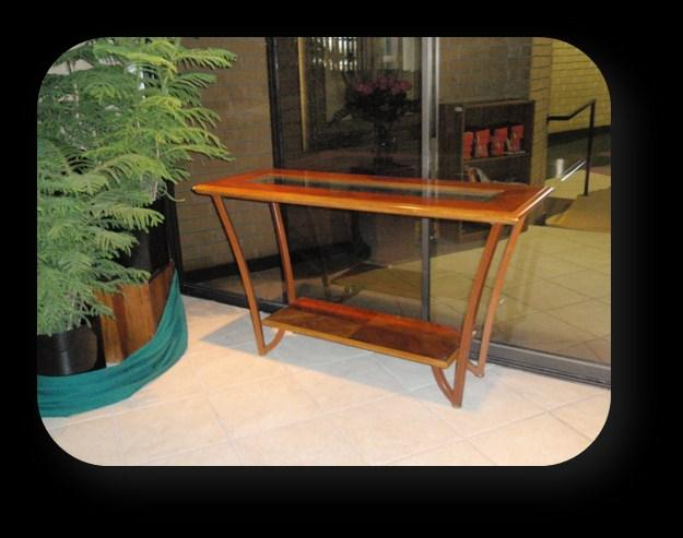 Credence Table - This table to hold articles used during Mass, such as the chalice,