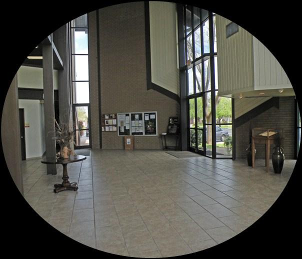 Narthex The place of welcome!