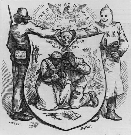 "Document 4 ""The Union as It Was"", Thomas Nast in 1874."