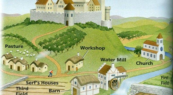 Instead of paper or coin money, the economy of feudalism typically used land and loyalty pledges.