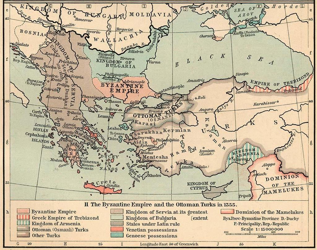 Role of Constantinople Seat (capital) of
