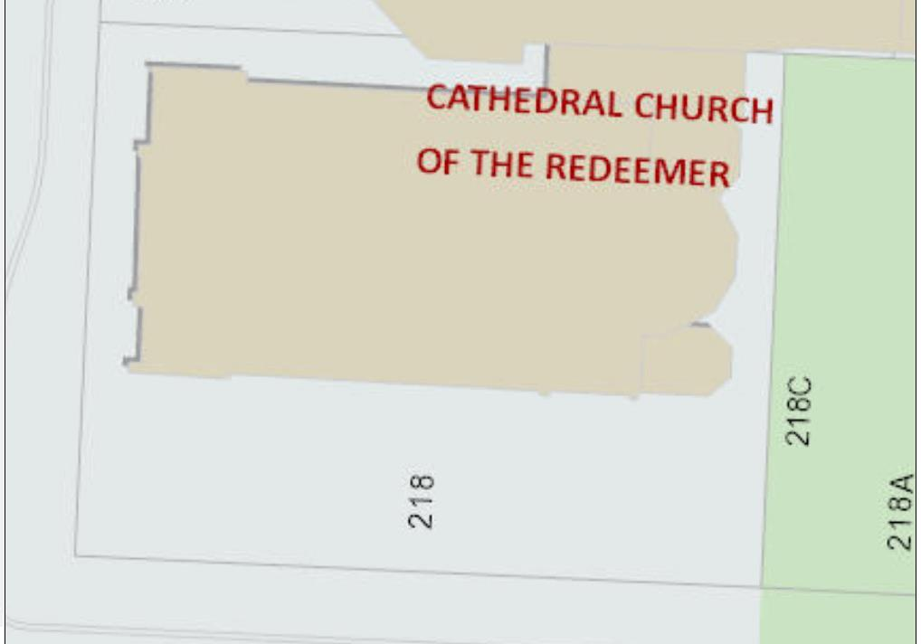 SCHEDULE C TO THE BYLAW TO DESIGNATE THE CHURCH OF THE REDEEMER AS A MUNICIPAL HISTORIC RESOURCE Item #7.