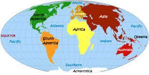 division of land within a continent. Groups of countries make up continents the country we live in is England. A continent is a large area of land on the earth.