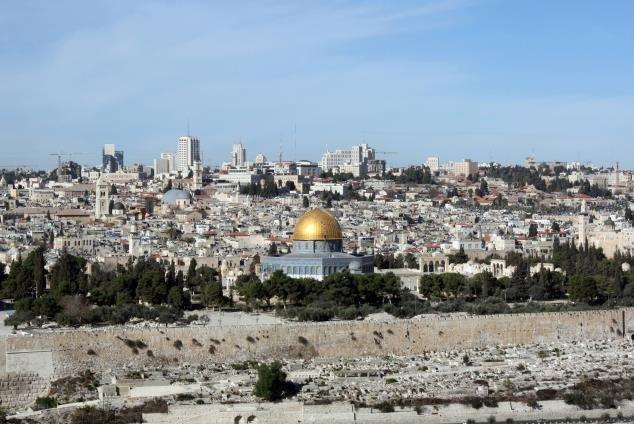 Day 7: Tuesday, May 7, 2019 FREE DAY IN JERUSALEM Today is free for rest, reflection, shopping, or for the energetic, perhaps a walk on the walls of the Old City.