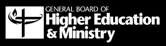 Division of Ordained Ministry General Board of Higher Education and Ministry The United Methodist Church