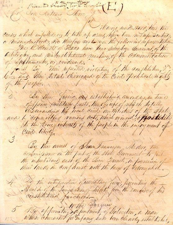 Turtle Bayou Resolutions There they pledged their allegiance to the constitution of 1824.