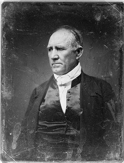 Sam Houston was elected to Congress and then served as the Governor of Tennessee in 1827 His young