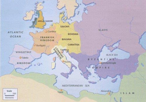 Germanic Kingdoms Emerge Concept of government changes Family ties and personal loyalty Made it