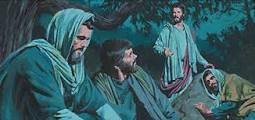 Garden of Gethsemane, Jesus said to Peter, What? Could you not watch with Me one hour?