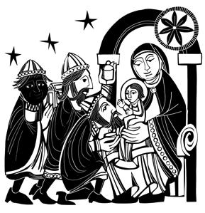 EPIPHANY CAROL LITURGY Epiphany celebrates the appearance of God s glory in the world through the birth of Jesus, our Emmanuel ( God with us ), and the revelation of the incarnation to the Gentiles,