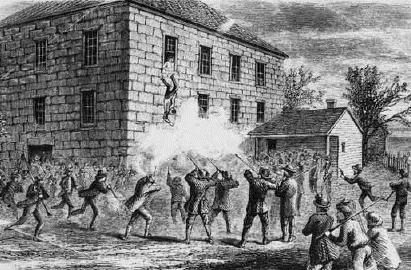 Death of Joseph Smith Carthage, Illinois jail Stormed by a mob Smith