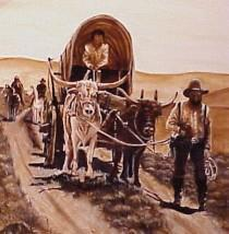 Life on the Trail 1845 The Emigrants Guide was a guide book to help settlers cross the trail Wagon and animals to pull it was the biggest expense (Oxen Best) - Also needed spare parts Food for each