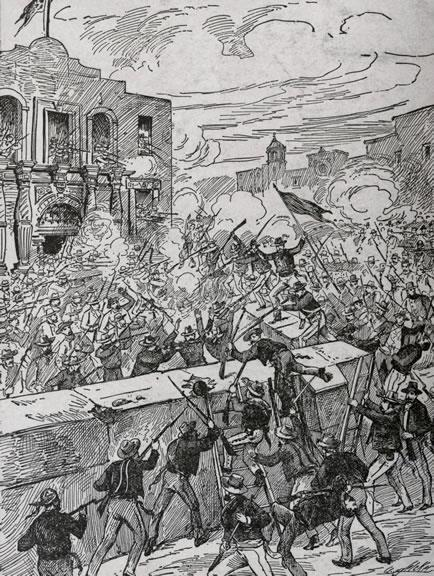 Battle of the Alamo February 24, 1836 Siege of the Alamo began - Settlers held the army off for 12 days - 13 th
