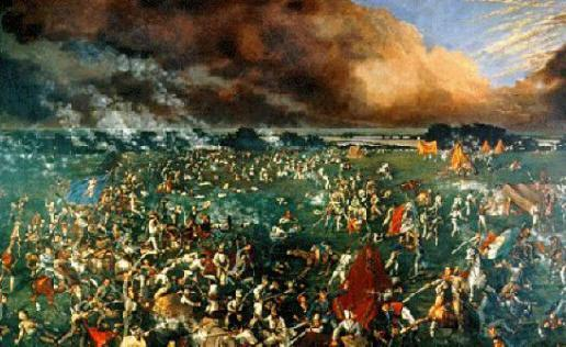 The Defeat of Santa Anna Santa Anna went after last remaining force led by Sam Houston April 21, 1836 Houston's forces